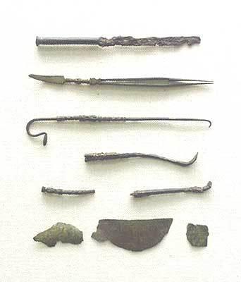 römisches Arztbesteck
