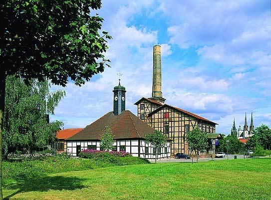 Aussenansicht Technisches Halloren- und Salinemuseum Halle