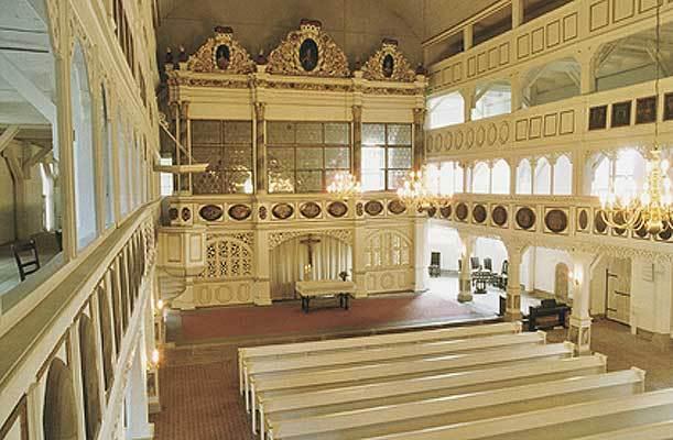 Innenansicht St. Marienkirche