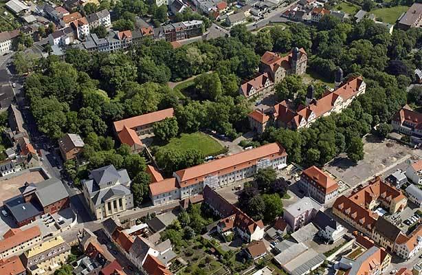 Luftbild Schloss Köthen