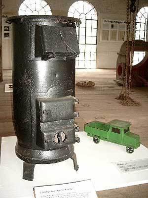 Dauerausstellung über die Geschichte der Mägdesprunger Eisenhütte und der Maschinenfabrik Carlswerk