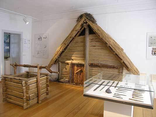 Blick in die Dauerausstellung Ur- und Frühgeschichte