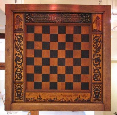 Geschenkschachbrett des Großen Kurfürsten von 1651