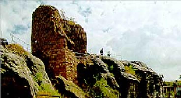 Blankenburg: Burg und Festung Regenstein