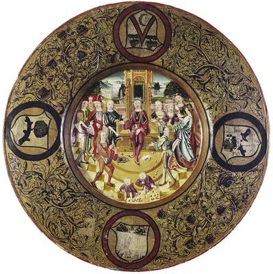 Hochzeitsteller um 1480 (Foto: Birgit Mundt)