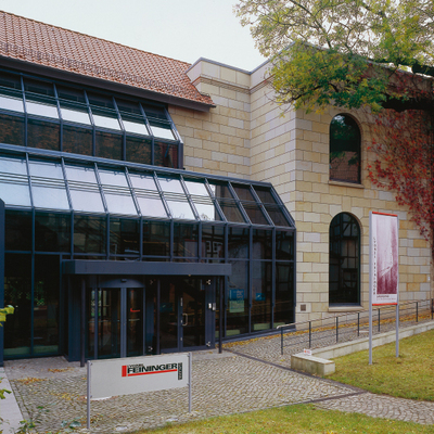 Ansicht der Lyonel-Feininger-Galerie, Foto: Peter Kühn, Dessau