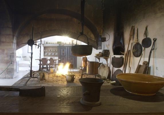 Großkamin der spätgotischen Burgküche