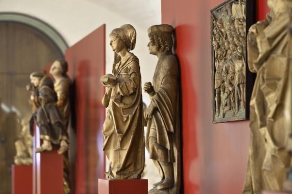 Blick in die Dauerausstellung, Mittlers Tonnengewölbe (Foto: Hans Wulf Kunze)