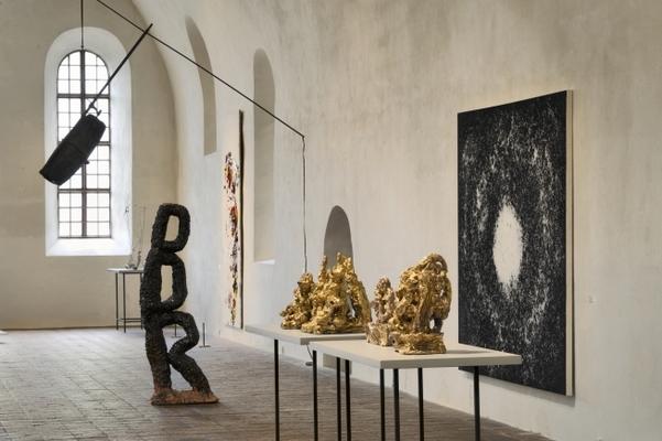 Blick in die Dauerausstellung Zeitgenössische Kunst (Foto: Hans Wulf Kunze)