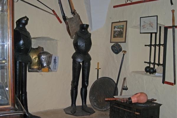 Waffenkammer (Foto: Christine Krebs)