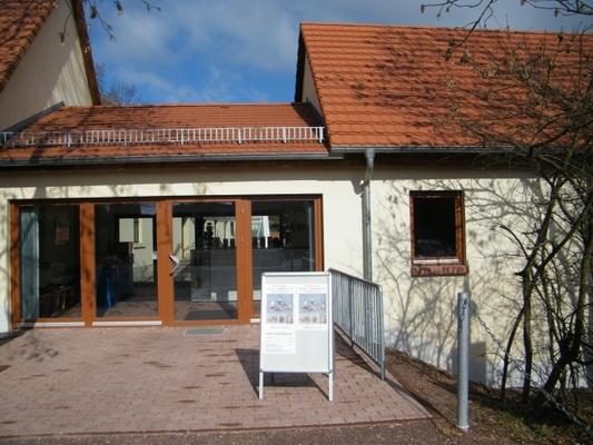 Eingang Museum Petersberg