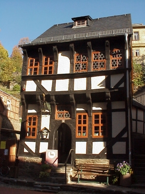 Außenansicht Kleines Bürgerhaus