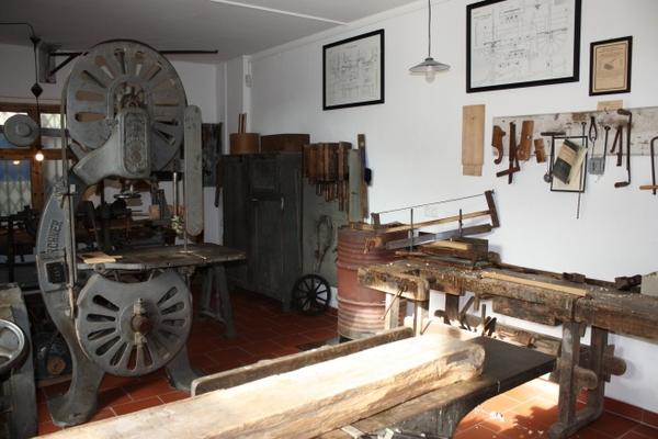 Historische Werkstatt - Stellmacher