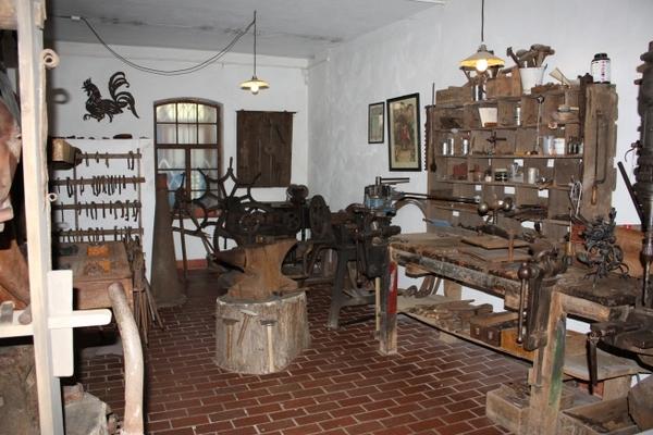 Historische Werkstatt - Schmiede