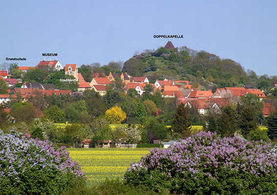 Altstadtkern Landsberg Westansicht