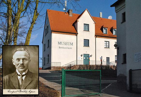 Museum und Portrait des Sammlungsbegründers