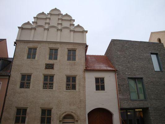 Melanchthonhaus und Erweiterungsgebäude; Foto: Florian Trott