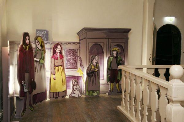 Blick in die Ausstellung im Melanchthonhaus; Foto: Anne Eilers