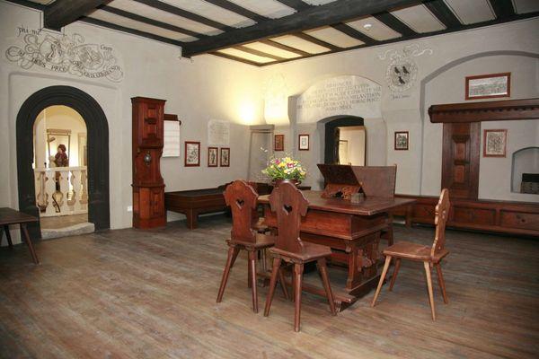 Studier- und Sterbezimmer von Philipp Melanchthon; Foto: Anne Eilers