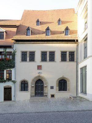 Außenansicht von Luthers Sterbehaus; Foto: von M GmbH