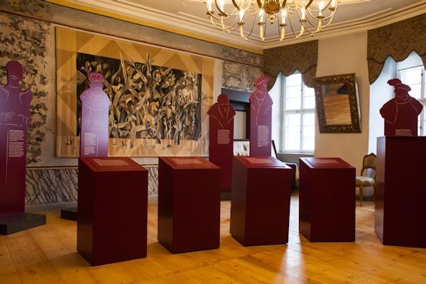 Blick in die Müntzerausstellung; Foto: designritter