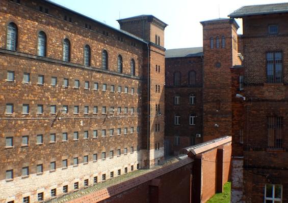 Hafthäuser der Justizvollzugsanstalt