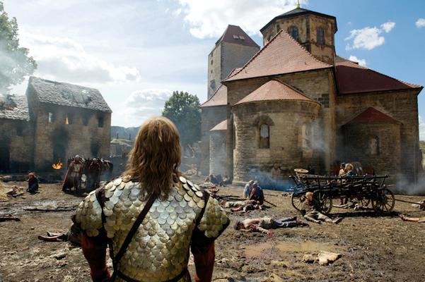 Burg Querfurt - Die Päpstin (Constantin Film)