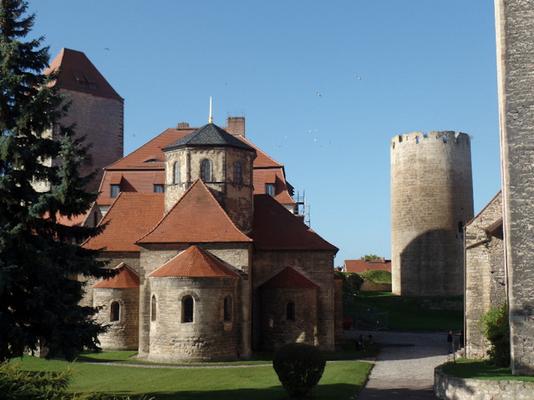 Burgkirche auf dem Burggelände