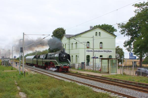 Empfangsgebäude Eisenbahnmuseum Kötzschau