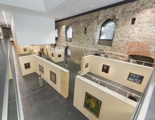Ausstellungsansicht: Wege der Moderne. Kunst in Deutschland 1900–1945