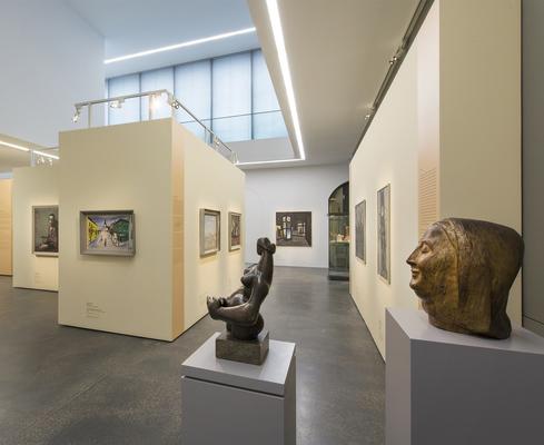 Ausstellungsansicht: Wege der Moderne. Kunst in der SBZ/DDR 1945–1990
