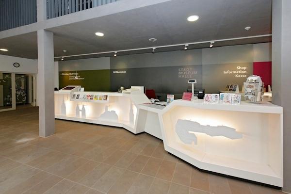 Foyer Stadtmuseum Halle; Bildrechte: Stadt Halle (Saale)/T. Ziegler