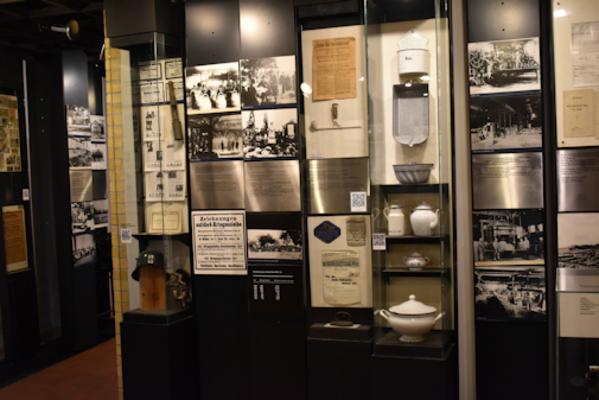 Blick in einen Teil der Ausstellung