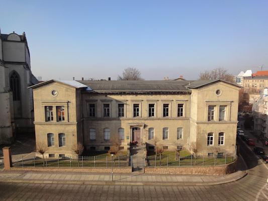 Hauptgebäude Zentralmagazin Naturwissenschaftliche Sammlungen Foto: F. Steinheimer