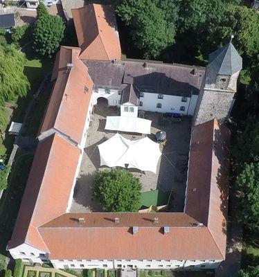 Luftbildaufnahme Burg (Foto: Jens Schmidt)