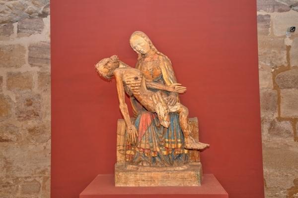 Pietá, frühes 14. Jahrhundert