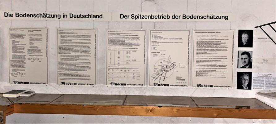 Ausstellung - Schautafeln