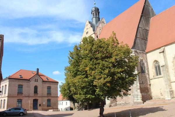 Stadtkirche und Carl-Loewe-Museum