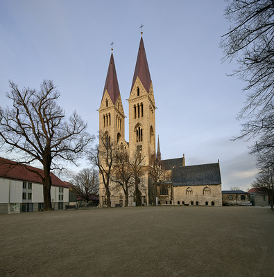 Dom von Westen; © Kulturstiftung Sachsen-Anhalt, Foto: Bertram Kober / Punctum