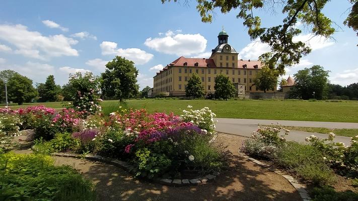 Schloss Moritzburg, Park (Foto: W. Havenstein)