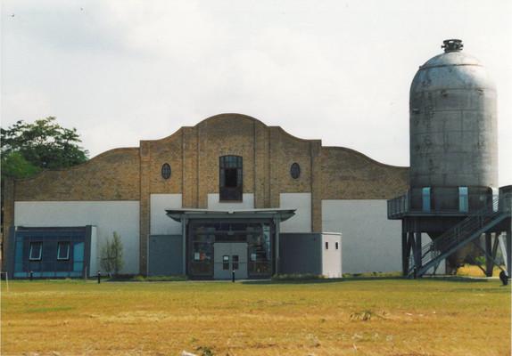Außenansicht des Filmmuseums Wolfen
