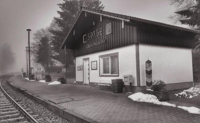Kleines Grenzmuseum in Sorge