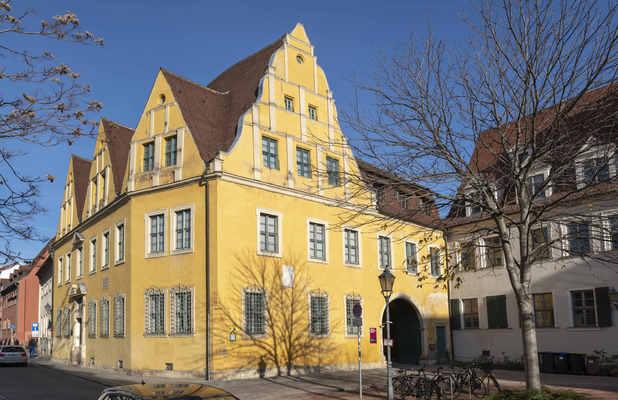 Christian-Wolff-Haus; Foto: Falk Wenzel