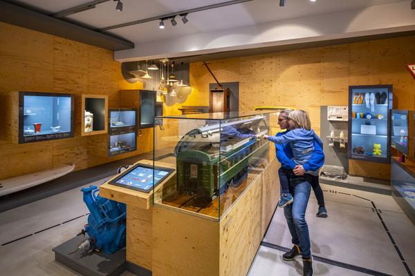 Blick in die stadtgeschichtliche Dauerausstellung-Entdecke Halle!; Foto: Falk Wenzel