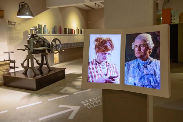 Blick in die Ausstellung-Homestory; Foto: Thomas Ziegler