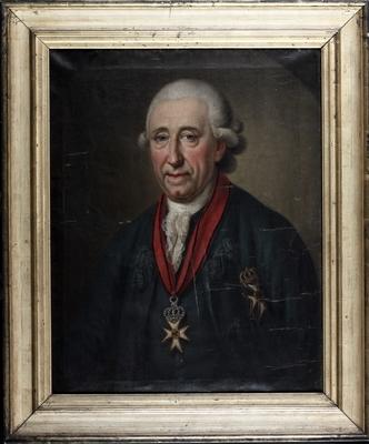 Freiherr Ernst Ludwig Christoph von Spiegel zum Diesenberg (1711-1785) (Foto: Städtisches Museum Halbestadt)